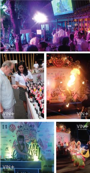 The biggest WINE CARNIVAL event in bali
